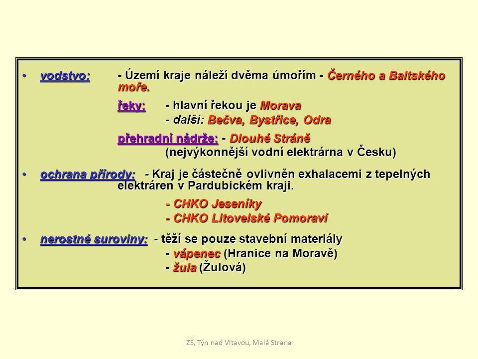 vodstvo: - Území kraje náleží dvěma úmořím - Černého a Baltského moře.vodstvo: - Území kraje náleží dvěma úmořím - Černého a Baltského moře.