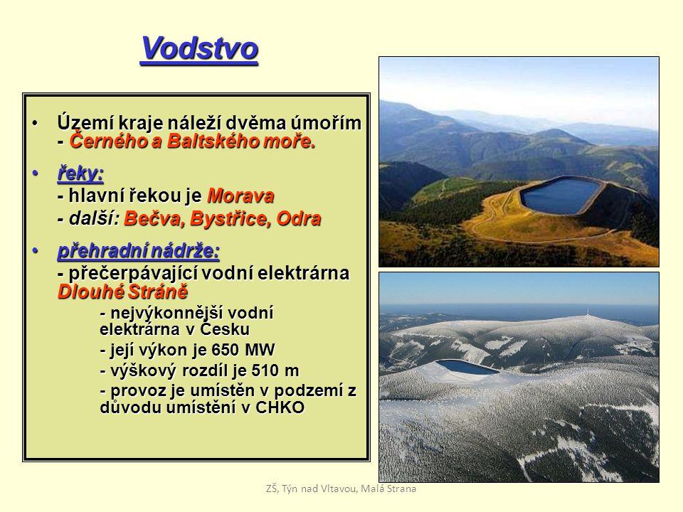 Vodstvo Území kraje náleží dvěma úmořím - Černého a Baltského moře.Území kraje náleží dvěma úmořím - Černého a Baltského moře. řeky:řeky: - hlavní řek