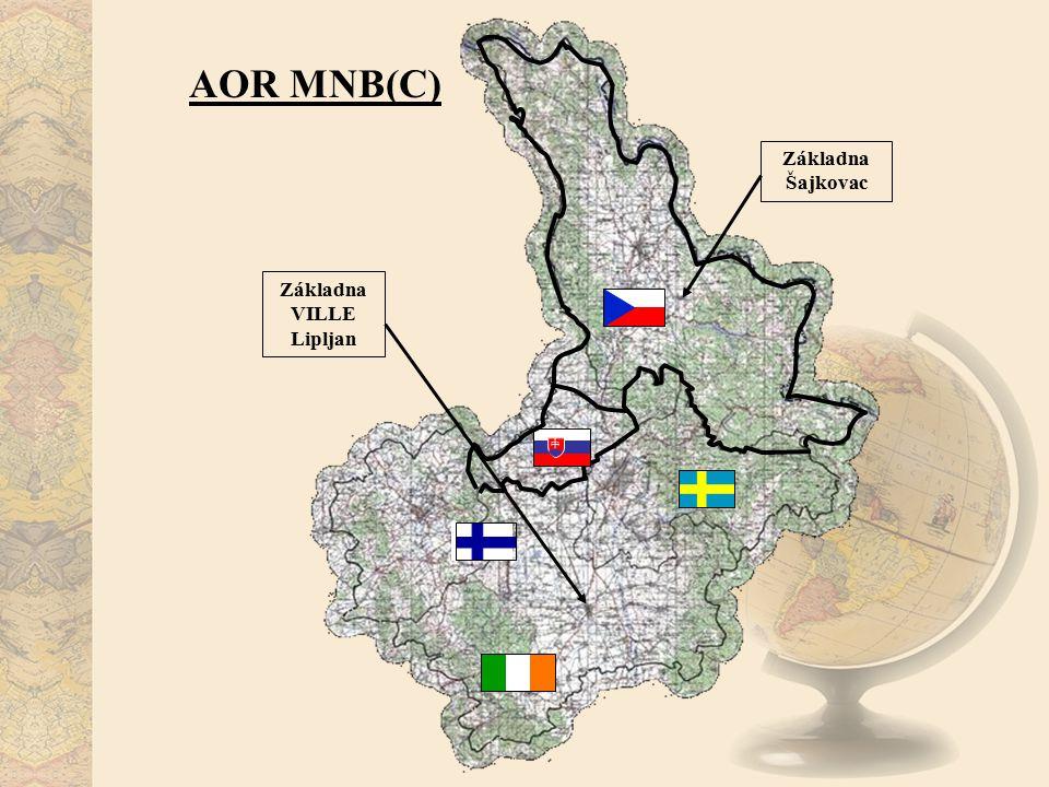 AOR MNB(C) Základna Šajkovac Základna VILLE Lipljan