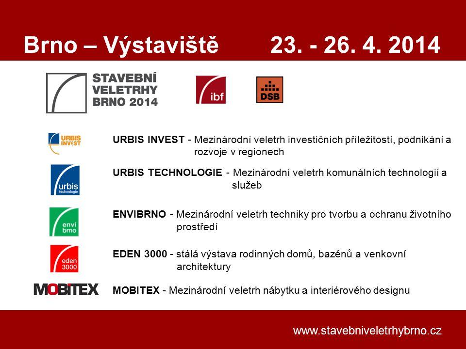 Klepnutím lze upravit styl předlohy nadpisů. www.stavebniveletrhybrno.cz URBIS INVEST - Mezinárodní veletrh investičních příležitostí, podnikání a roz