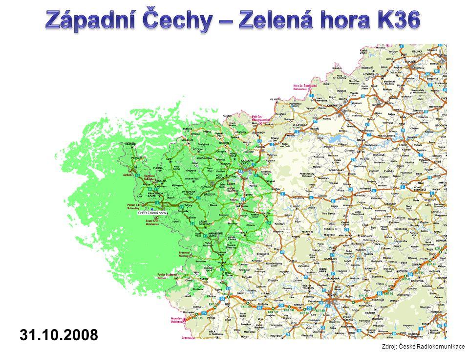 31.10.2008 Zdroj: České Radiokomunikace