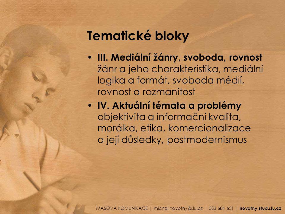 Tematické bloky III.
