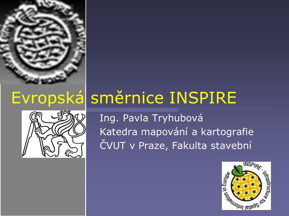 Evropská směrnice INSPIRE Ing.