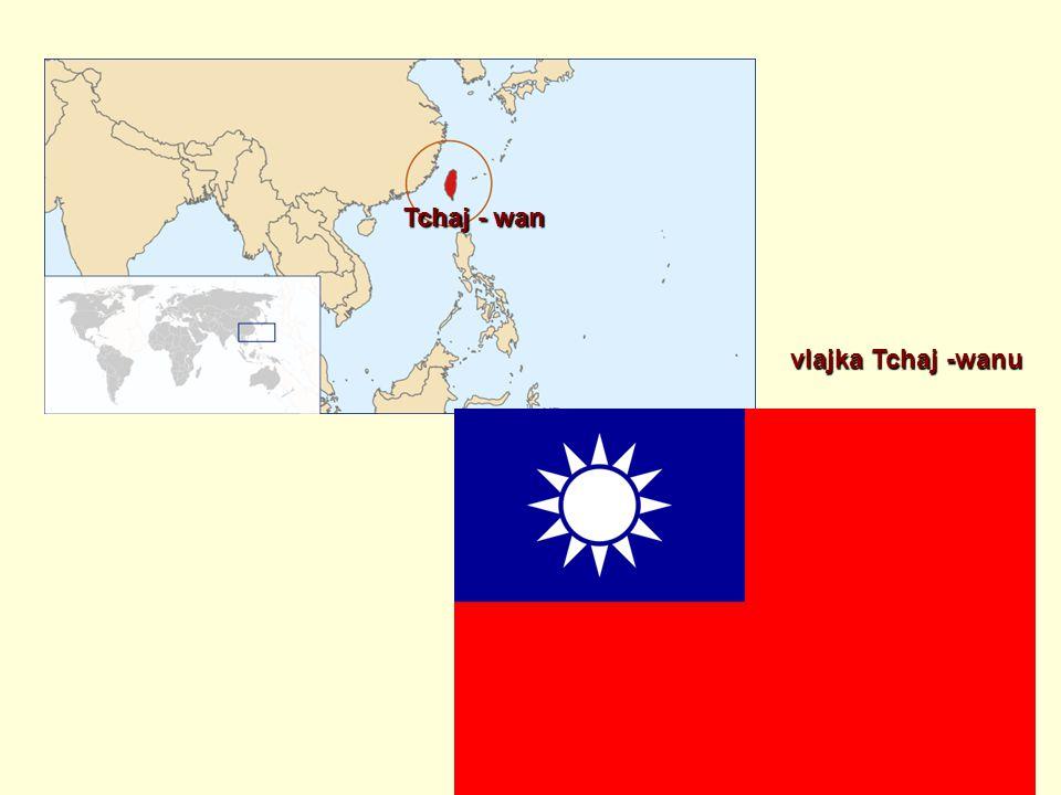 Tchaj - wan vlajka Tchaj -wanu