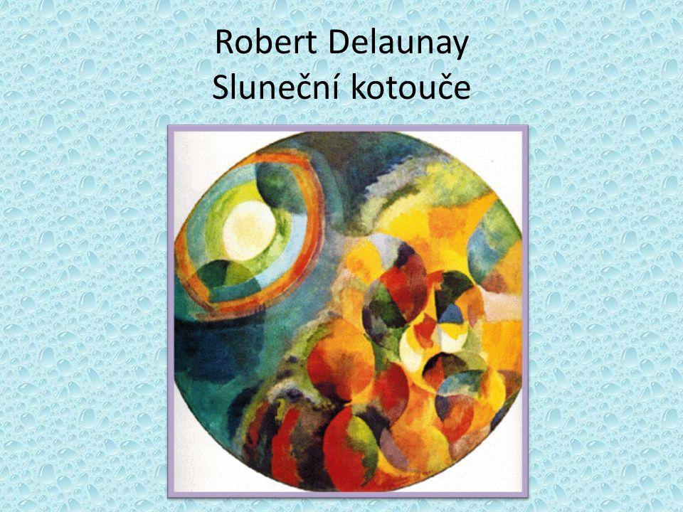 Robert Delaunay Kruhové tvary
