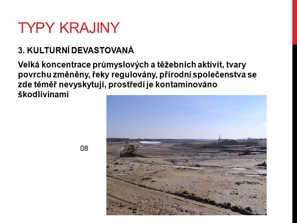 TYPY KRAJINY 3.