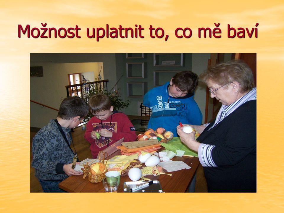 Babičky nejsou stařeny, každá někde pracovala, každá něco umí