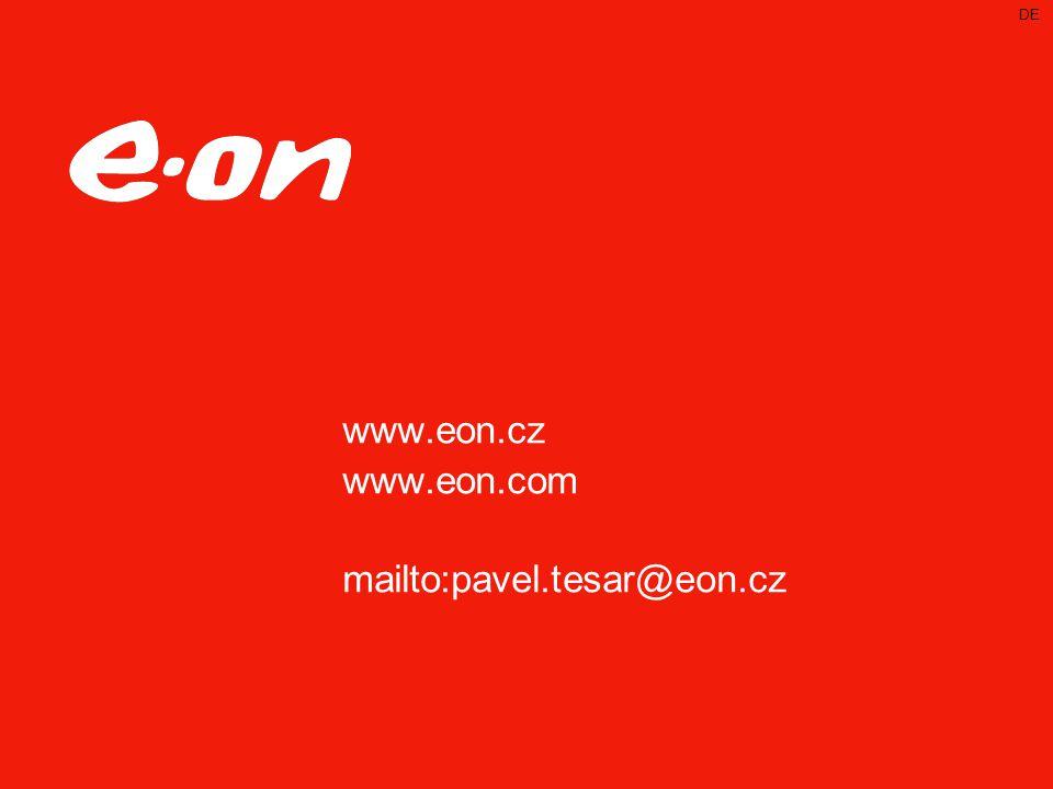 DE www.eon.cz www.eon.com mailto:pavel.tesar@eon.cz