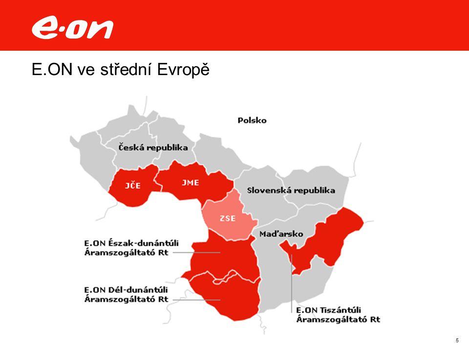 5 E.ON ve střední Evropě