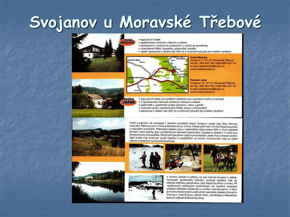 Svojanov u Moravské Třebové