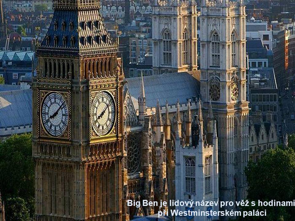 Angličané si oblíbili zvuk jeho zvonů, který symbolicky představuje čas království a je přenášen denně stanicí BBC.
