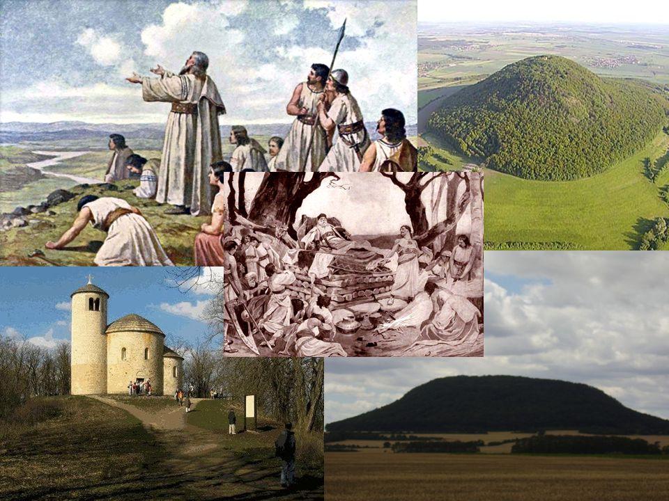 Staří Čechové již uměli obdělávat pole, sklízeli z nich obilí a len, chovali domácí zvířata a včely.