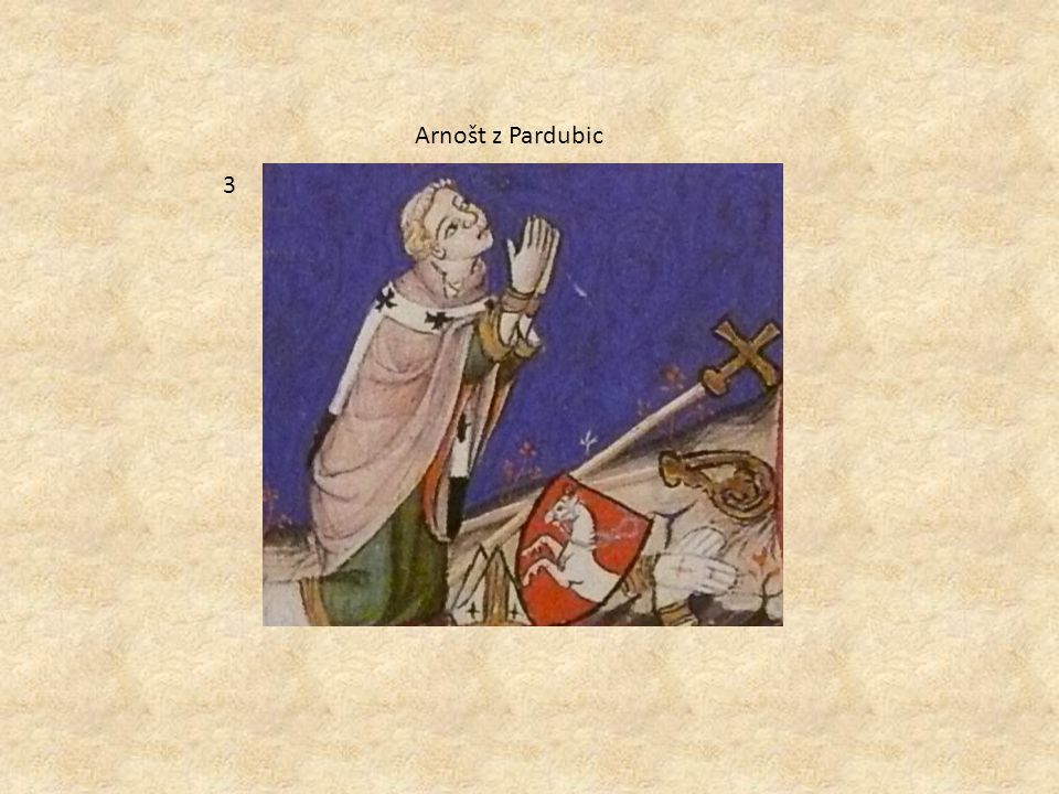 Arnošt z Pardubic 3