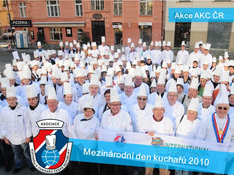 Akce AKC ČR Mezinárodní den kuchařů 2010