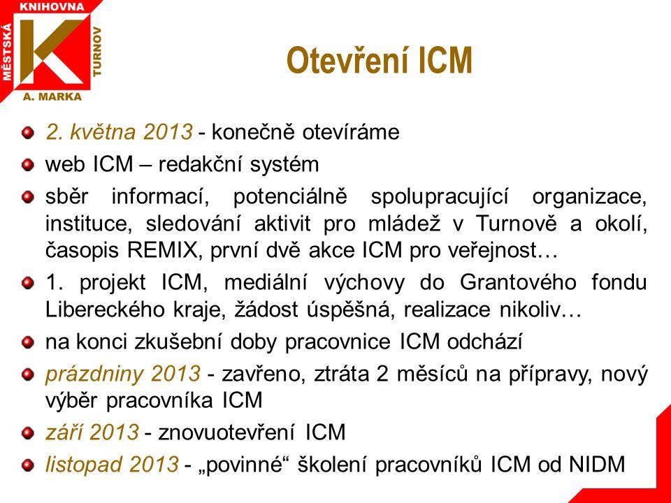 Otevření ICM 2.