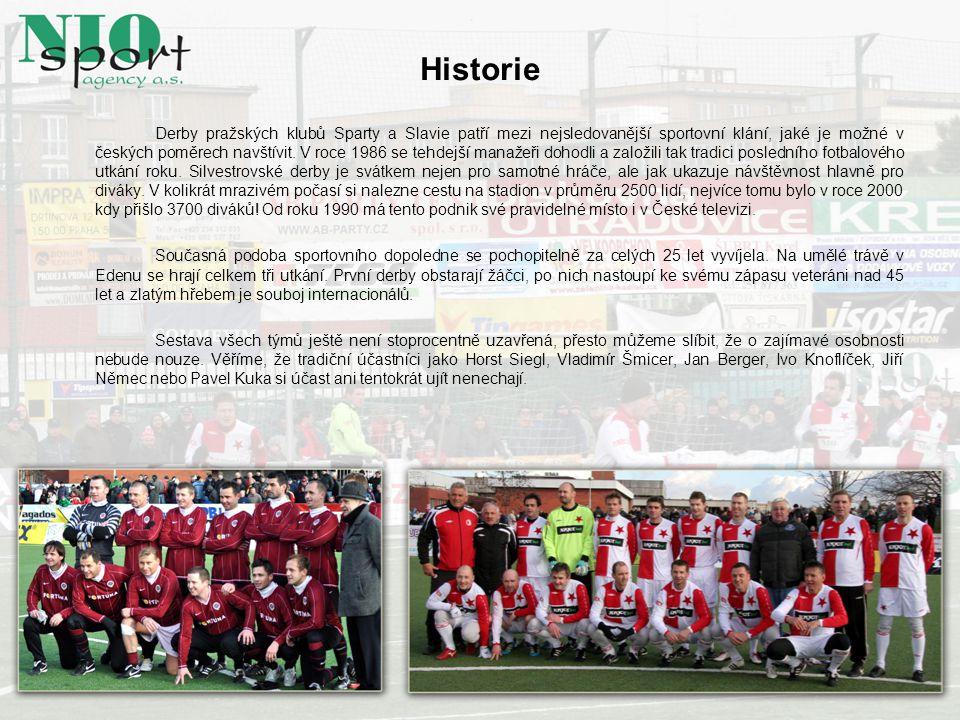 Historie Derby pražských klubů Sparty a Slavie patří mezi nejsledovanější sportovní klání, jaké je možné v českých poměrech navštívit. V roce 1986 se