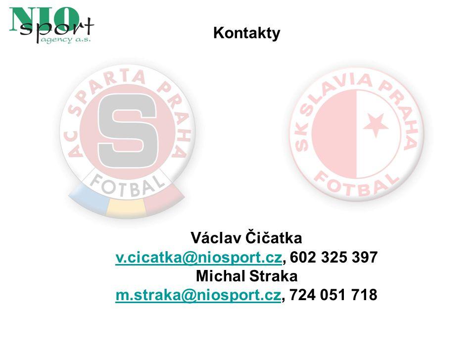 Kontakty Václav Čičatka v.cicatka@niosport.cz, 602 325 397 Michal Straka m.straka@niosport.cz, 724 051 718 v.cicatka@niosport.cz m.straka@niosport.cz