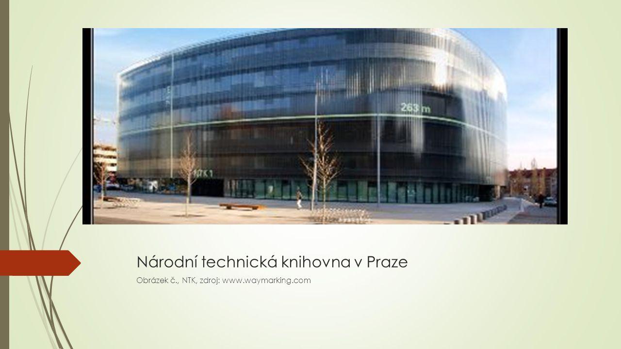 Národní technická knihovna v Praze Obrázek č., NTK, zdroj: www.waymarking.com