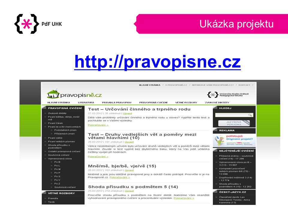 Poděkování Děkujeme za pozornost Tomáš Tuček Ondřej Martinek Tomas.tucek@uhk.cz Ondrej.martinek@uhk.cz https://www.facebook.com/Pravopisne.cz