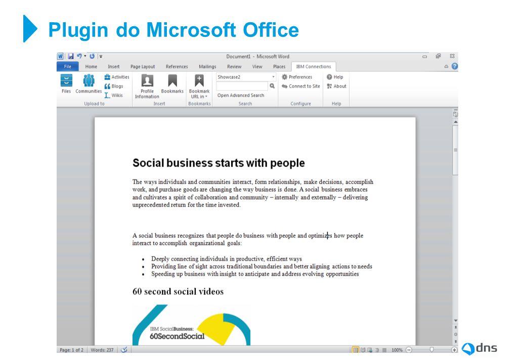 Plugin do Microsoft Office
