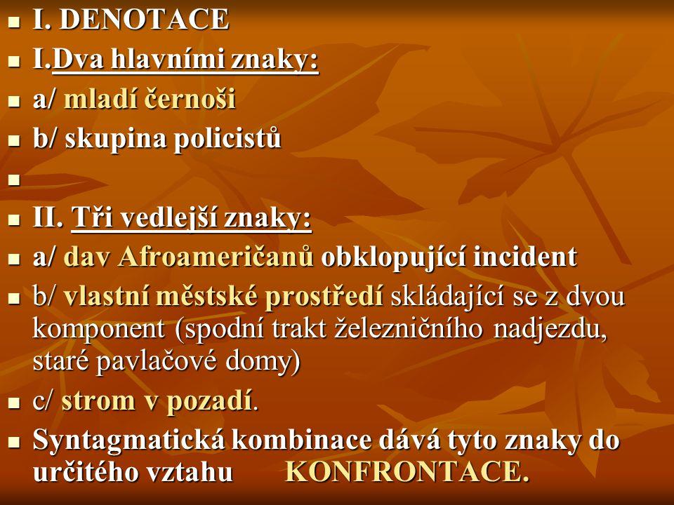 I.DENOTACE I.
