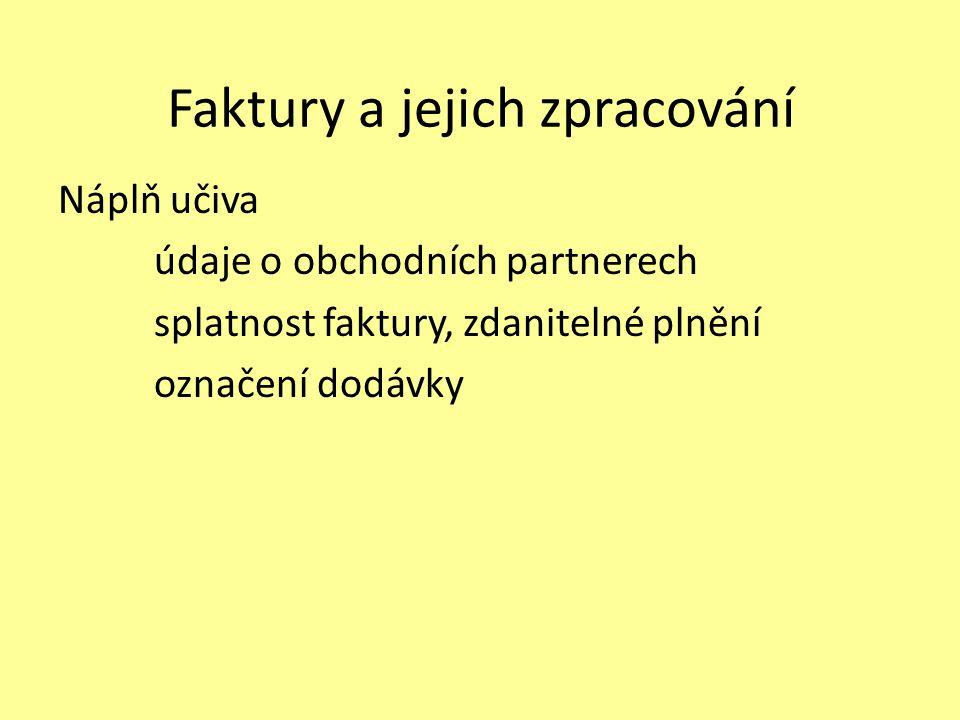 Seznam použité literatury: [1] ŠTIKOVÁ Stanislava, Obchodní korespondence I, nakladatelství Korespondent, Plzeň, 2001.