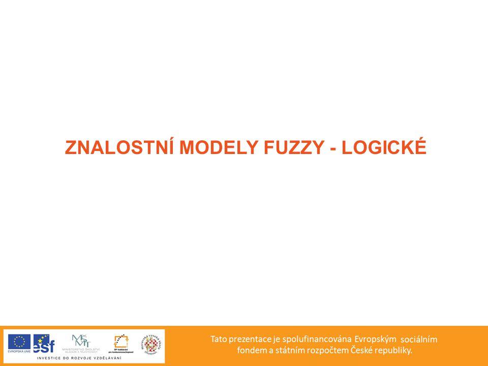 Blokové schéma fuzzy systému pro podporu rozhodování