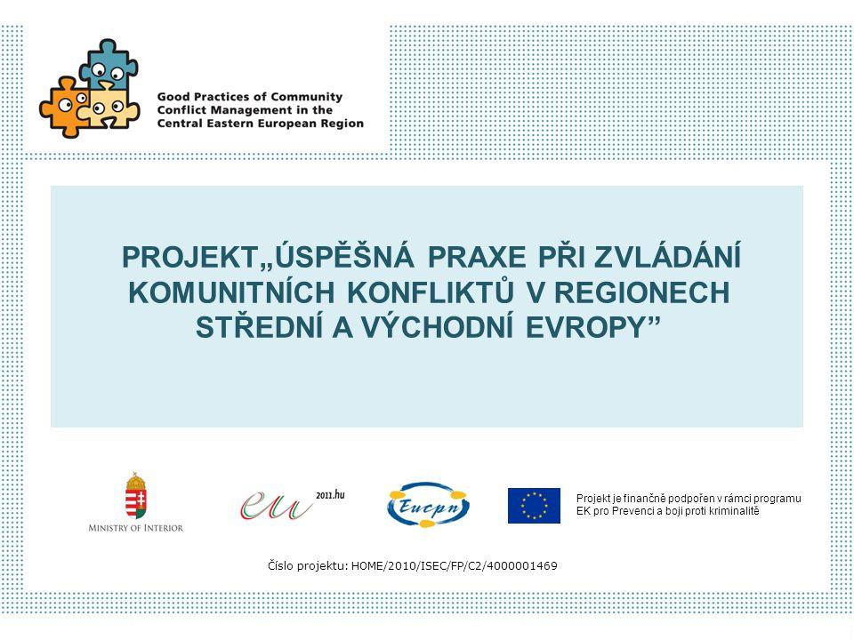 """Projekt je finančně podpořen v rámci programu EK pro Prevenci a boji proti kriminalitě Číslo projektu: HOME/2010/ISEC/FP/C2/4000001469 PROJEKT""""ÚSPĚŠNÁ"""