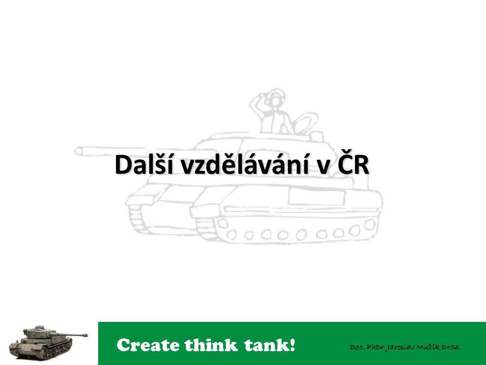 Create think tank! Doc. PhDr. Jaroslav Mužík DrSc. Další vzdělávání v ČR