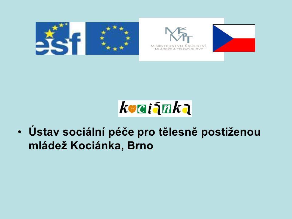 Ústav sociální péče pro tělesně postiženou mládež Kociánka, Brno
