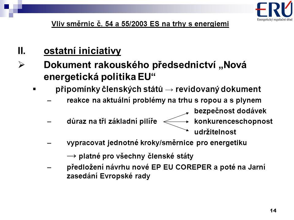 14 Vliv směrnic č.