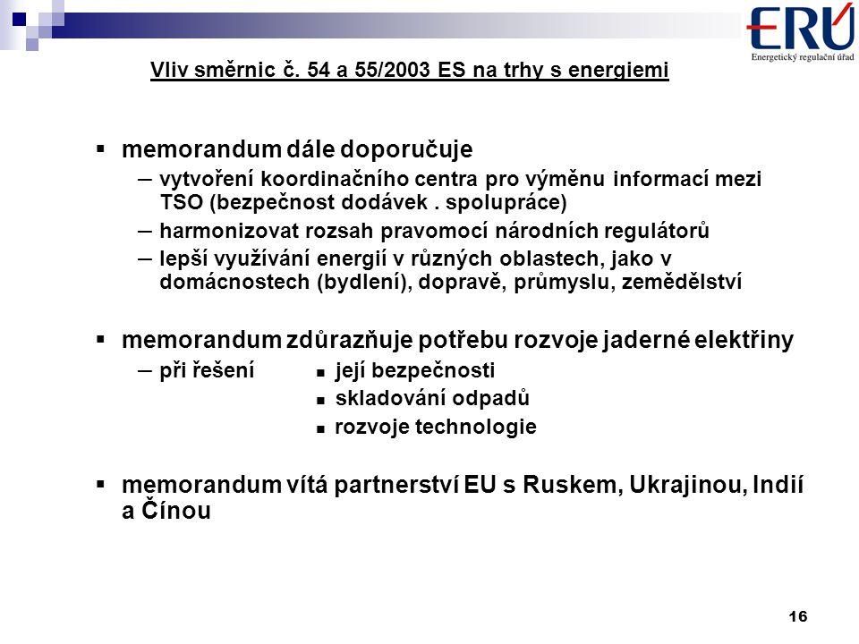 16 Vliv směrnic č.