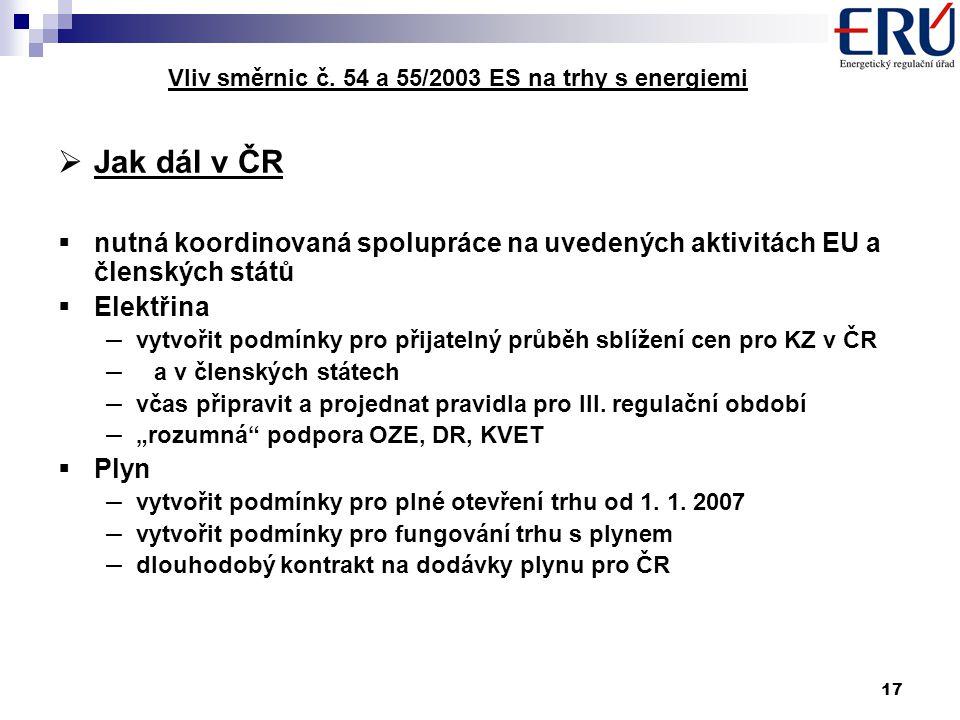 17 Vliv směrnic č.