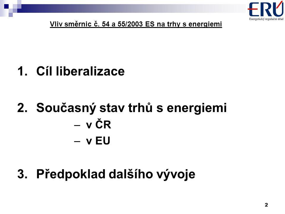 2 Vliv směrnic č.