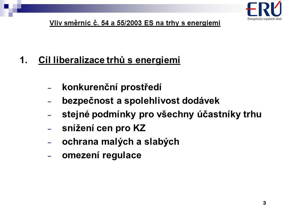 3 Vliv směrnic č.