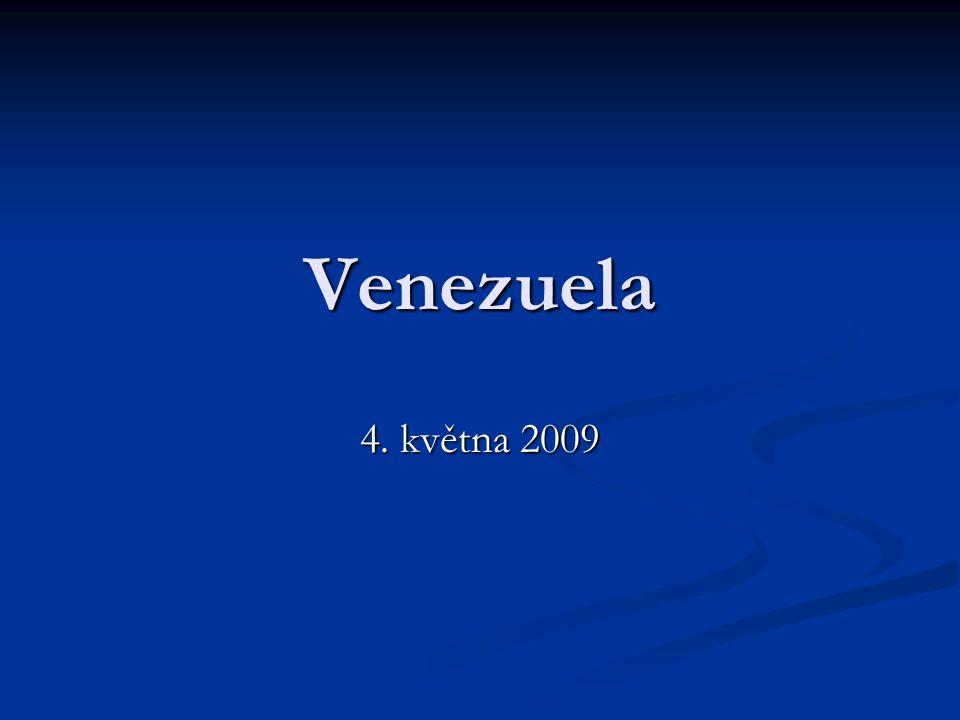 Venezuela 4. května 2009