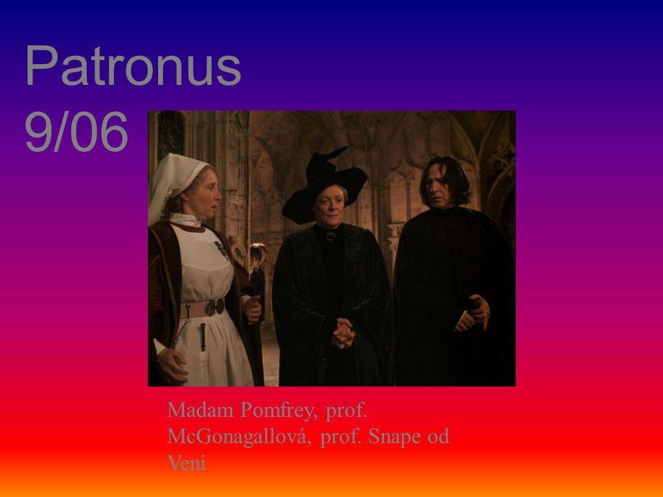Patronus 9/06 Madam Pomfrey, prof. McGonagallová, prof. Snape od Veni
