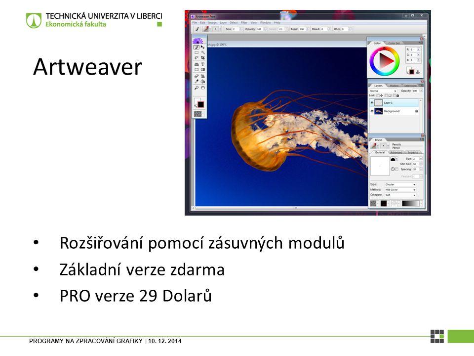 PROGRAMY NA ZPRACOVÁNÍ GRAFIKY| 10.12.