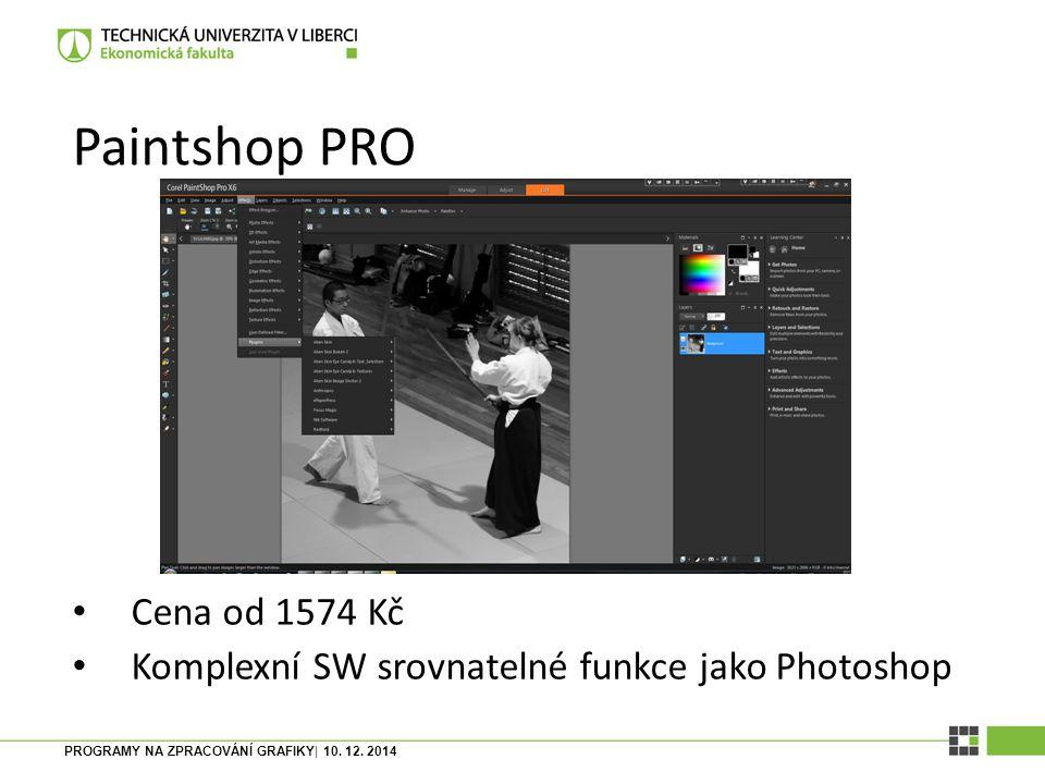 PROGRAMY NA ZPRACOVÁNÍ GRAFIKY| 10. 12. 2014 Paint.NET Opensource