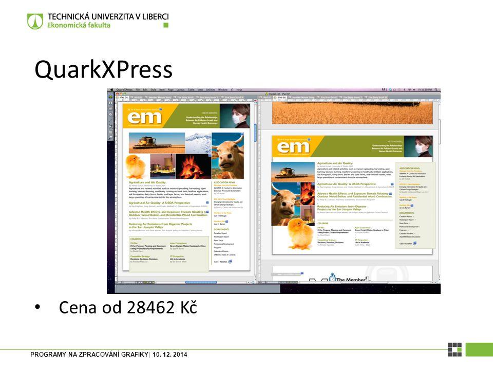 PROGRAMY NA ZPRACOVÁNÍ GRAFIKY| 10. 12. 2014 In Design Součást Creative Cloudu