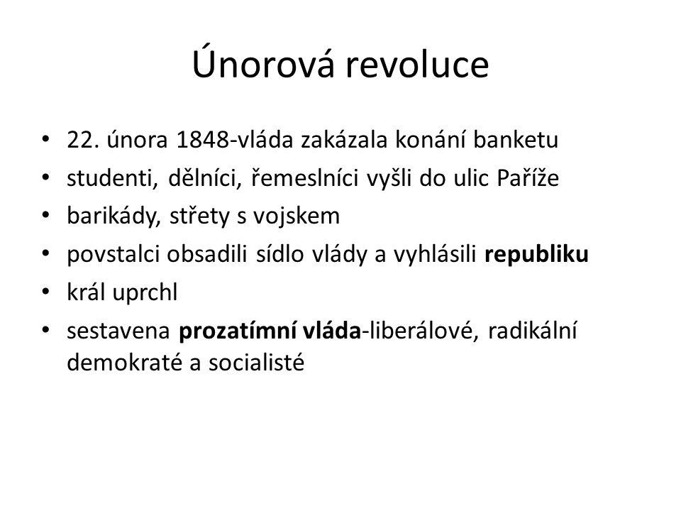 Únorová revoluce 22.