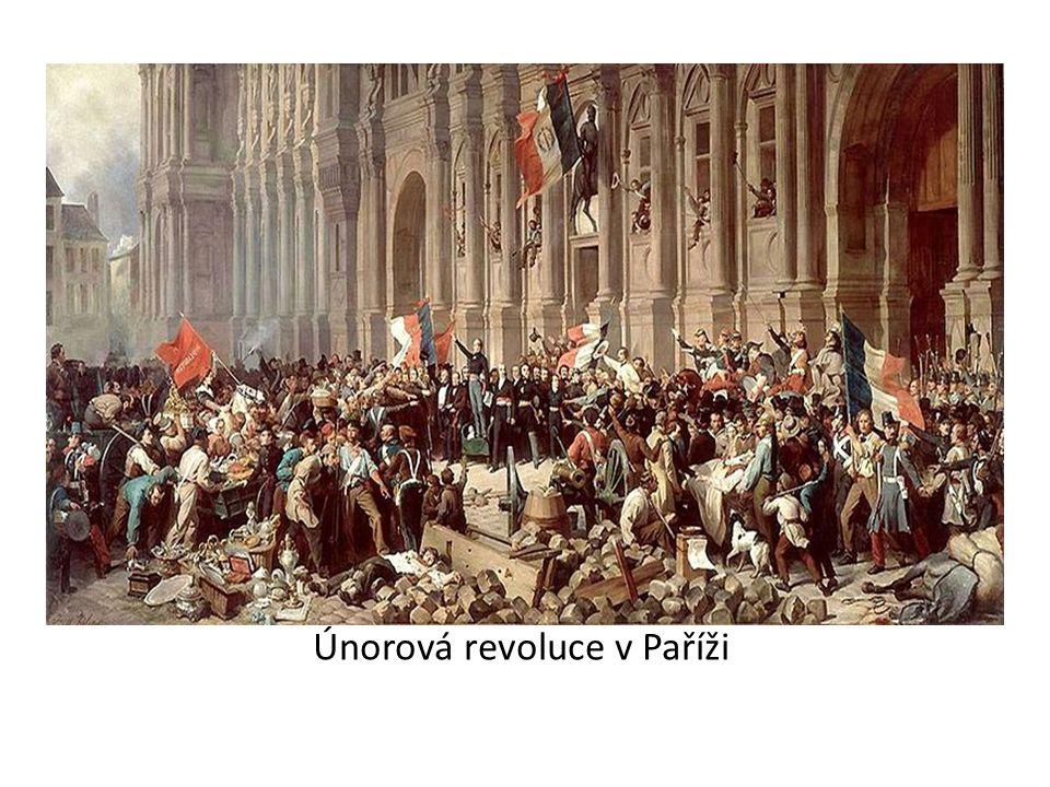 Únorová revoluce v Paříži