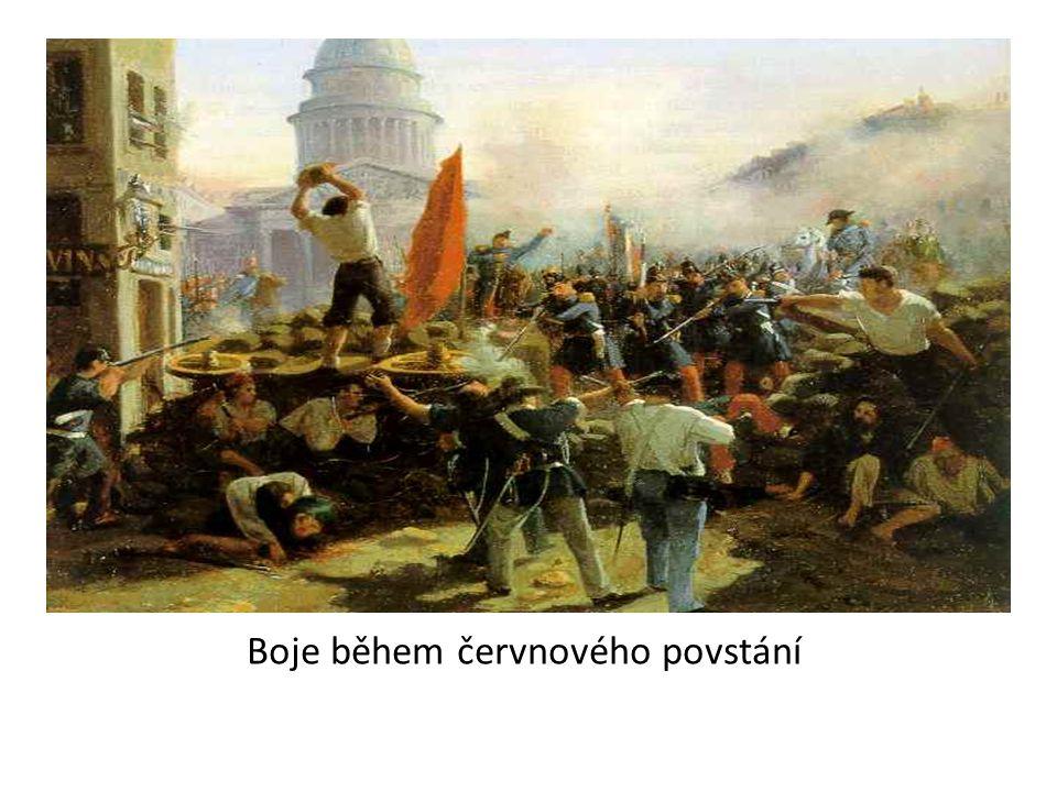 Boje během červnového povstání