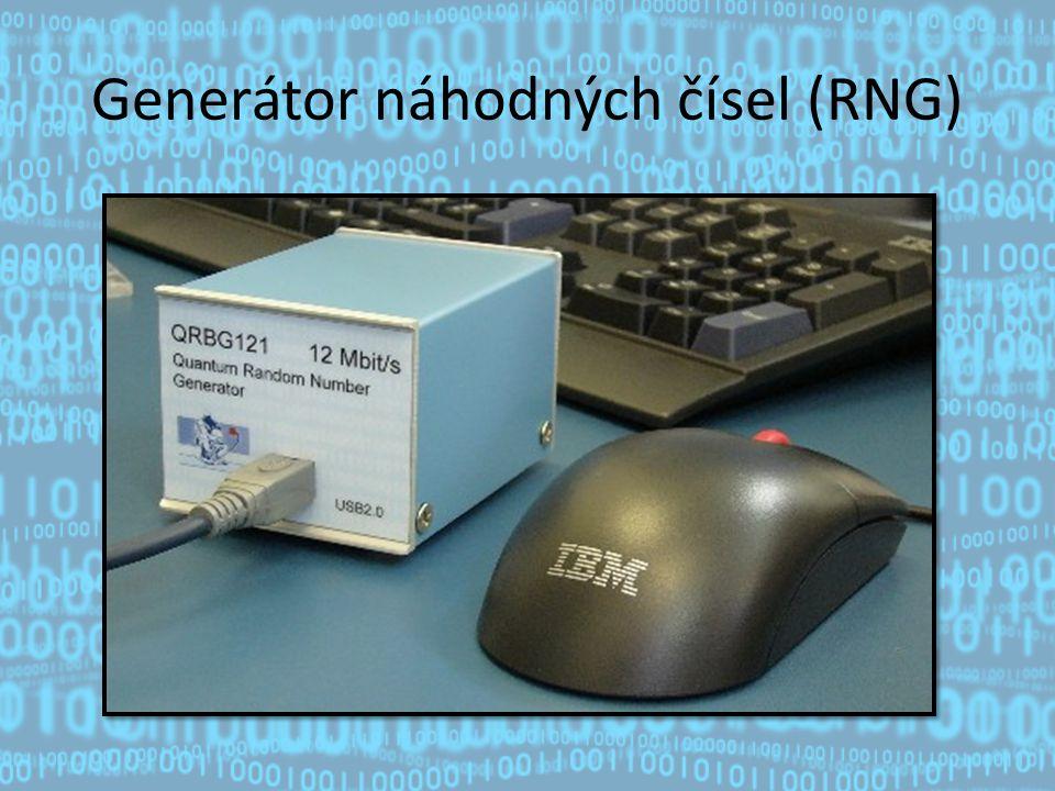 Generátor náhodných čísel (RNG)