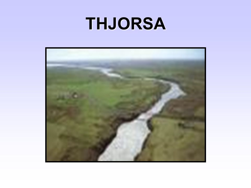 THJORSA
