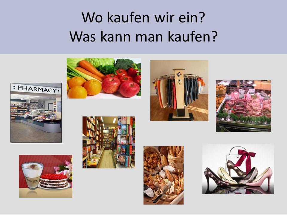 Wo kauft man das.Beispiel: biopotraviny – Bioprodukte kauft man im Bioladen.