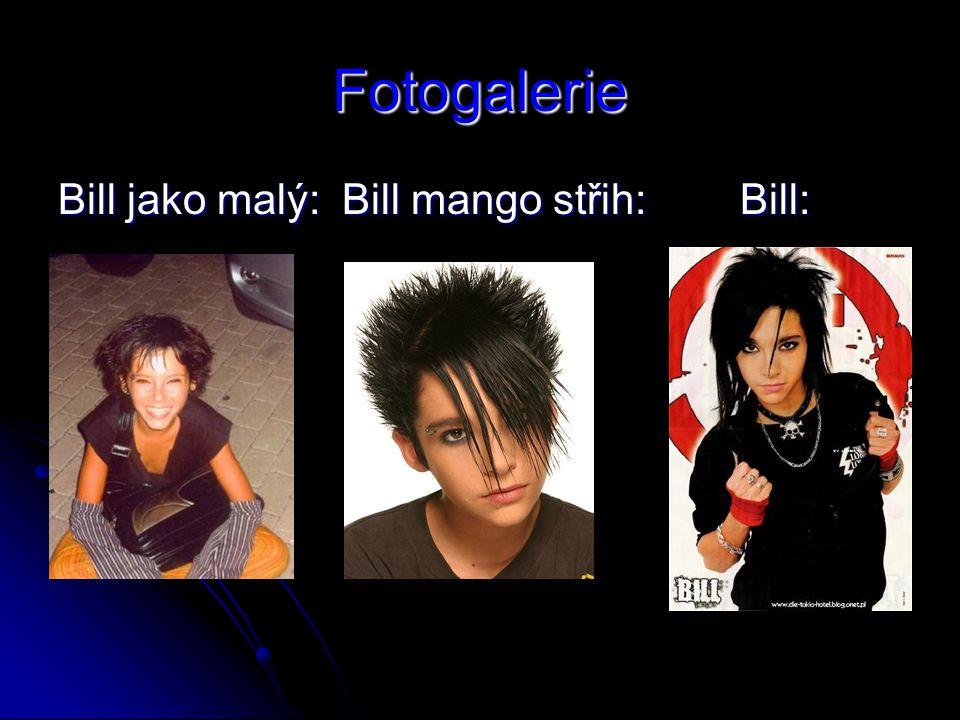 Fotogalerie Bill jako malý: Bill mango střih: Bill:
