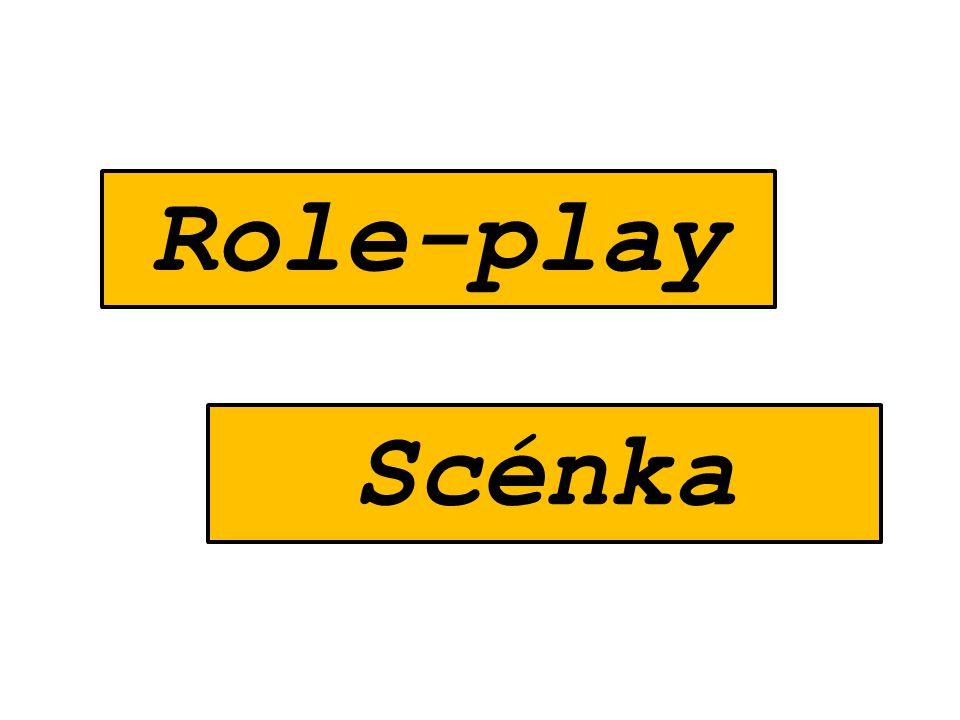 Role-play Scénka