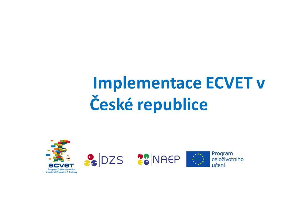 Implementace ECVET v České republice
