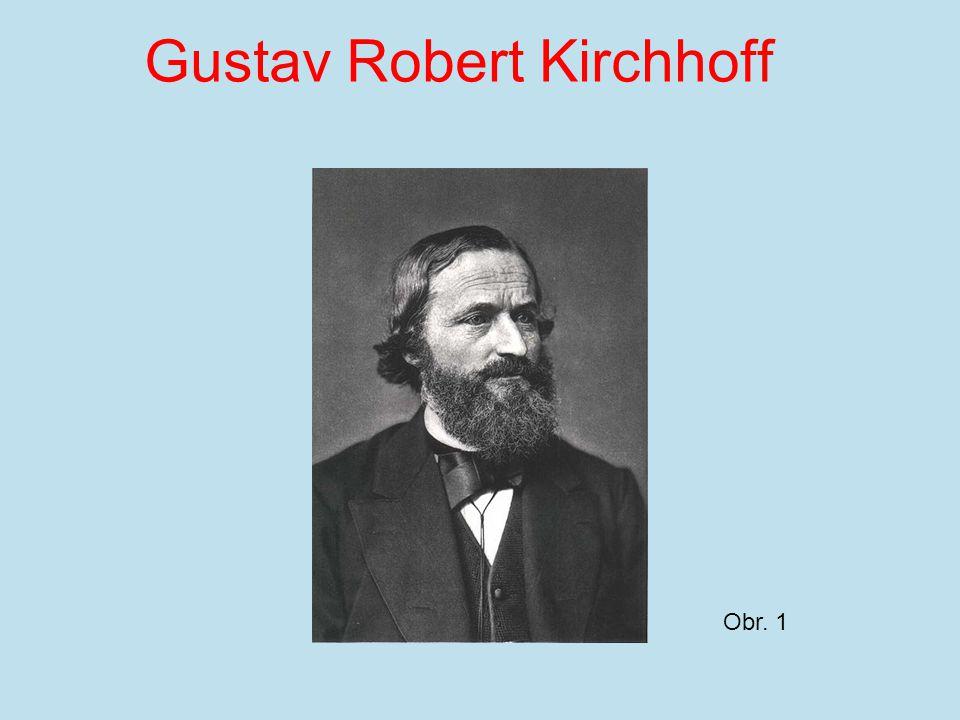 Gustav Robert Kirchhoff Obr. 1